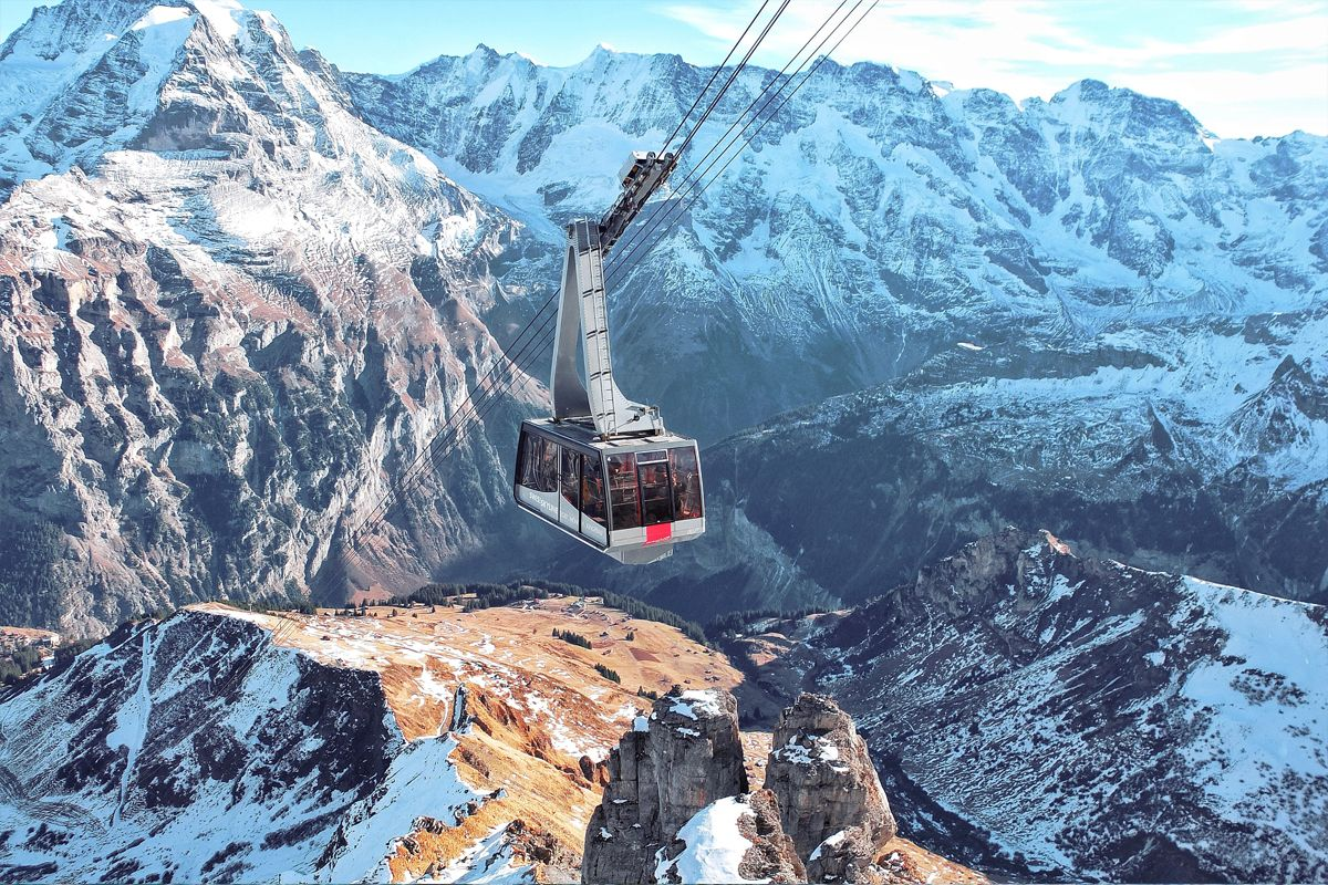 Ski resort Schilthorn